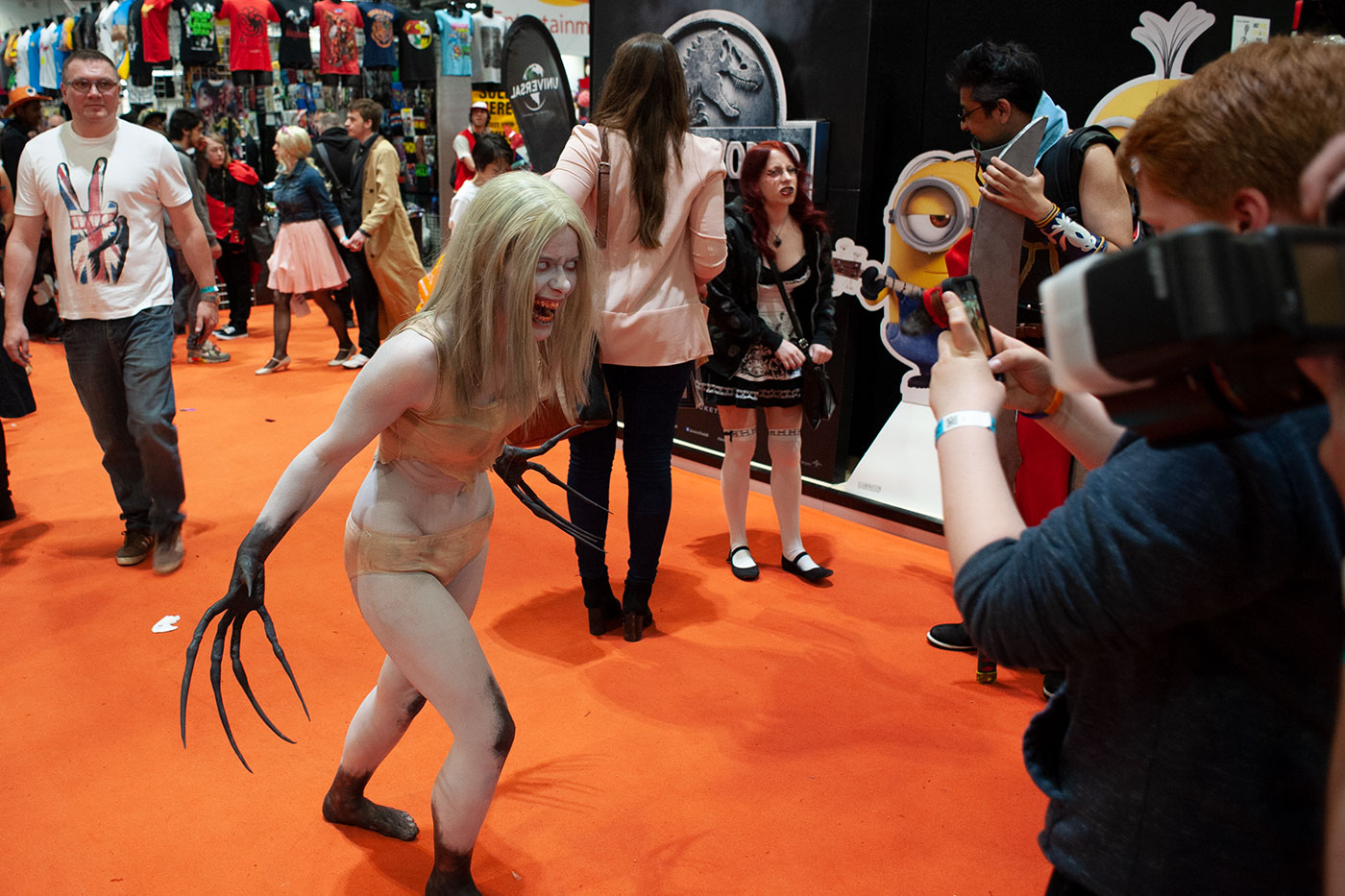 Cosplayer at London Comic Con